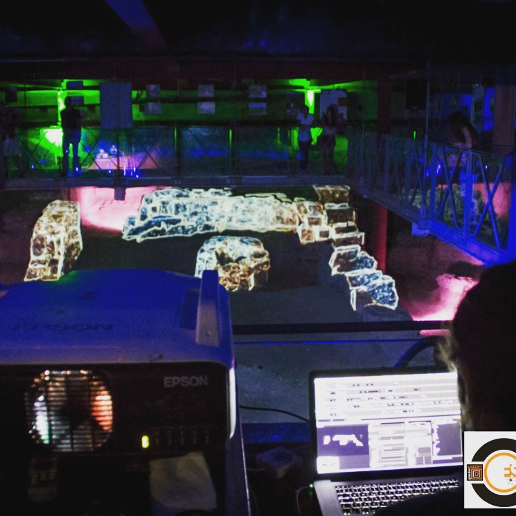 projection mapping sinapsi