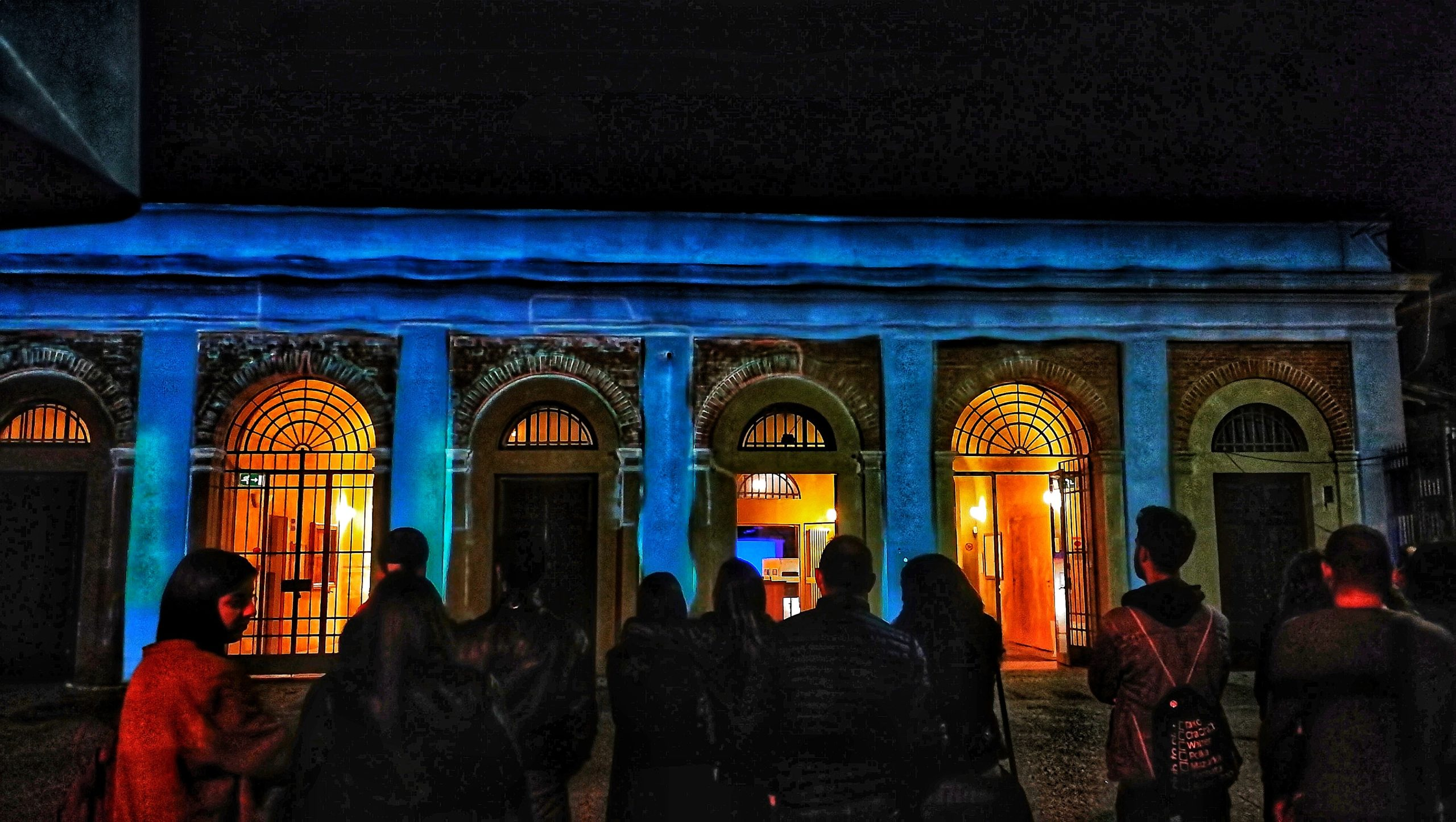 projection mapping in Pisa by Sinapsi videomapping lab